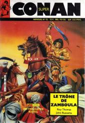 Conan (Super) (Mon journal) -12- Le trône de Zamboula