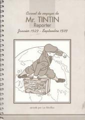 Tintin - Divers - Carnet de voyages de Mr. TINTIN Reporter - Janviers 1929 - Septembre 1939