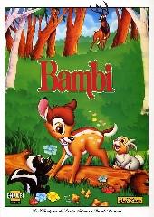 Les classiques du dessin animé en bande dessinée -8- Bambi