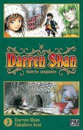 Darren Shan -3- Galeries sanglantes