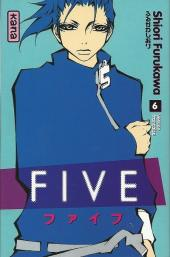 Couverture de Five -6- Tome 6