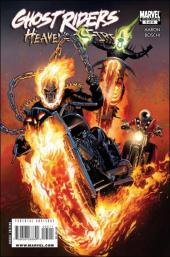 Ghost Riders: Heaven's on Fire (Marvel - 2009) -5- Heaven's on fire part 5 : sole reigning holds the tyranny of heaven