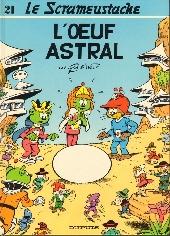 Le scrameustache -21- L'œuf astral