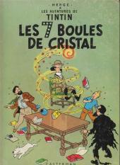 Tintin (Historique) -13B30- Les 7 boules de cristal