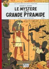 Blake et Mortimer (Les Aventures de) -4Soir- Le Mystère de la Grande Pyramide - Tome I - Le Papyrus de Manethon