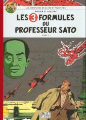 Blake et Mortimer -11Soir- Les 3 formules du professeur Sato - Tome I