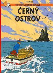 Tintin (en langues étrangères) -7Tchèque- Černý ostrov