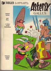 Astérix (en latin) -1- Astérix gallus