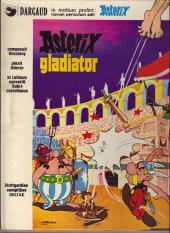 Astérix (en latin) -4- Asterix gladiator
