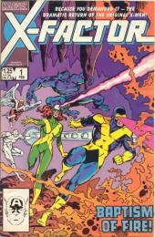 X-Factor (Marvel comics - 1986) -1- Baptism of fire - Third genesis