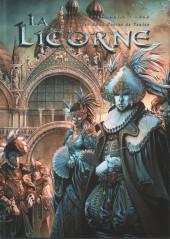La licorne -3TT- Les eaux noires de venise