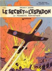 Blake et Mortimer (Historique) -1b70'- Le Secret de l'Espadon - Tome I - La Poursuite fantastique