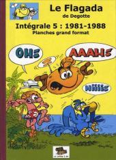 Le flagada -INT5- Intégrale 5 : 1981-1988