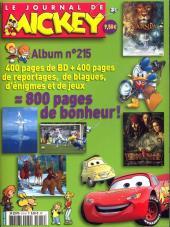 (Recueil) Mickey (Le Journal de) -215- Recueil n°215 (n°2816 à 2830)