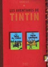 Tintin (France Loisirs 2007) -5- Tintin au Congo / Tintin en Amérique