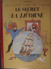 Tintin (Historique) -11B03- Le Secret de la Licorne