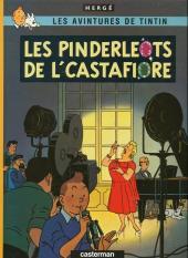 Tintin (en langues régionales) -21Tournais- Les pinderleots de l'Castafiore