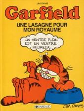 Garfield -6- Une lasagne pour mon royaume