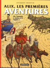 Alix (Intégrale) -6- Les premières aventures