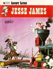 Lucky Luke (en anglais) -35- Jesse james