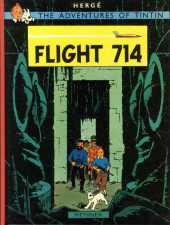 Tintin (The Adventures of) -22a- Flight 714