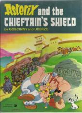 Astérix (en anglais) -11- Asterix and the chieftain's shield