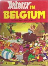 Astérix (en anglais) -24- Asterix in Belgium