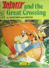 Astérix (en anglais) -22- Asterix and the Great Crossing