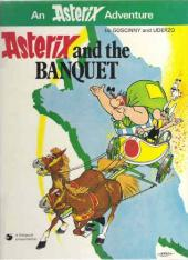 Astérix (en anglais) -5- Asterix and the banquet