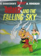 Astérix (en anglais) -33- Asterix and the falling sky