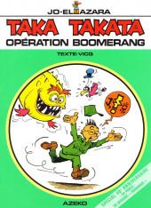 Taka Takata -13- Opération boomerang