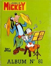 (Recueil) Mickey (Le Journal de) (1952) -81- Album n°81 (n°1368 à 1377)