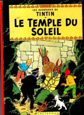 Tintin (Historique) -14B39- Le temple du soleil