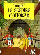 Tintin (Historique) -8B35- Le sceptre d'Ottokar