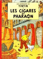 Tintin (Historique) -4B15- Les cigares du pharaon