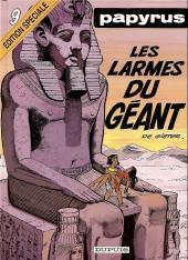 Papyrus -9ES- Les larmes du géant
