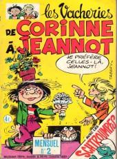 Les vacheries de Corinne à Jeannot -2- Le scandale