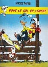 Lucky Luke -4e09- Sous le ciel de l'Ouest