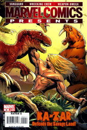 Marvel Comics Presents (2007) -5-  Ka-Zar Defends The Savage Land !