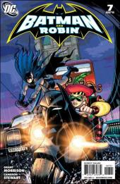 Batman and Robin (2009) -7- Blackest knight part 1 : pearly and the pit