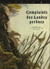 Complainte des Landes perdues -2b- Blackmore