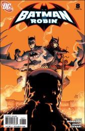 Batman and Robin (2009) -8- Blackest knight part 2 : Batman vs Batman