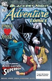 Adventure Comics (2009) -7510- What did black lantern superboy do ?