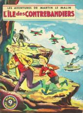 Martin le Malin (Album Tricolore) -9- L'île des contrebandiers