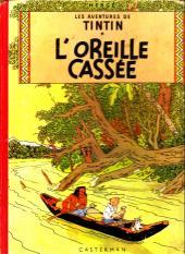 Tintin (Historique) -6B09- L'oreille cassée