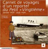 (AUT) Hergé -124- Carnet de voyages d'un reporter du Petit