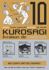 Kurosagi, livraison de cadavres -10- Volume 10
