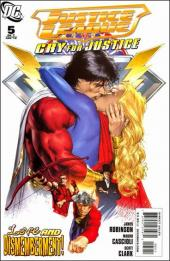 Justice League: Cry for justice (2009) -5- The lie