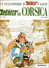 Astérix (en langues régionales) -20corse- Astérix in Corsica