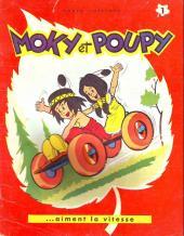 Moky et Poupy -1- Moky et Poupy aiment la vitesse